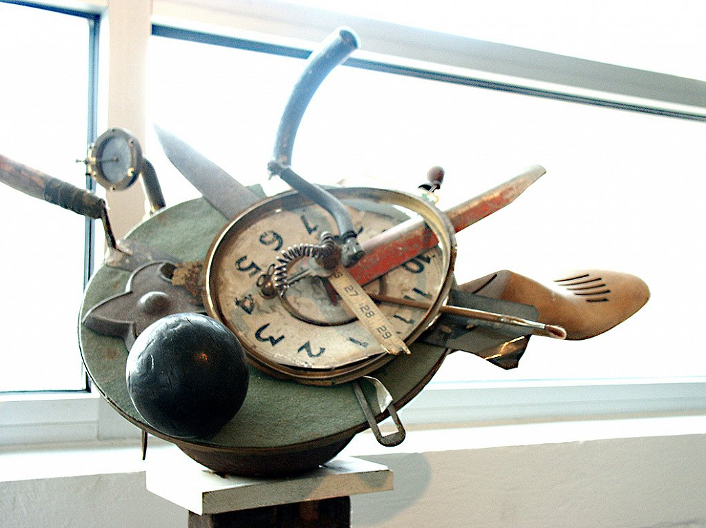 ARTIFACTS AMERICANA: TIME CLOCK #2